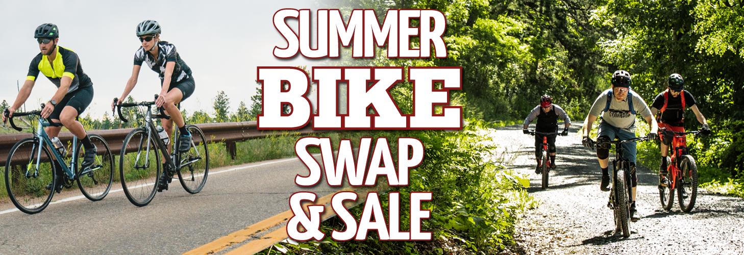 Summer Bike Swap & Sale!