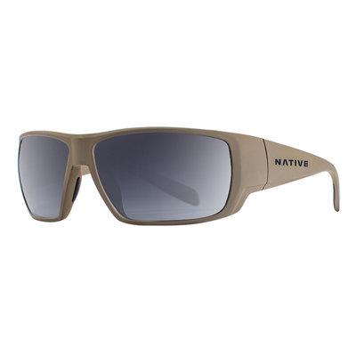 Native Sightcaster Desert Tan/Gray Sunglasses