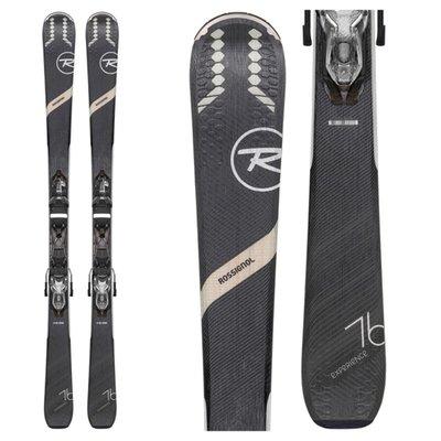 Rossignol Women's Experience 76 CI Skis with Xpress W10 B83 Blk/Spk Bindings 2020