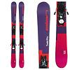 Elan Kids' Twist Pro Skis with EL 7.5 WB90 Blk/Sil  Bindings 2020