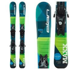 Elan Kids' Maxx QS Skis w/EL 4.5 GW Shift Bindings 2021