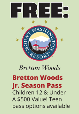 Free Bretton Woods Ski Pass: A $500 Value