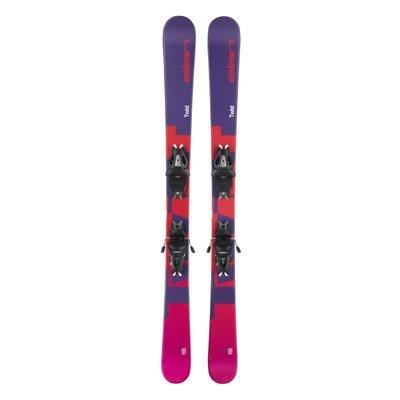Elan Kids' Twist LS Skis w/ EL 10.0 GW Blk/Blk Bindings 2020