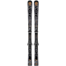 Salomon S/Force 9 Skis w/Z10 GW Grey BlackBindings 2020