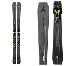 Atomic Vantage 79 C Skis w/FT 10 GW Black Green Bindings 2020