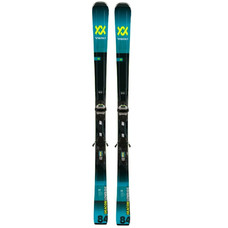 Volkl Deacon 84 Skis w/LowRide XL 13 FR GW  Blk/Teal Bindings 2020