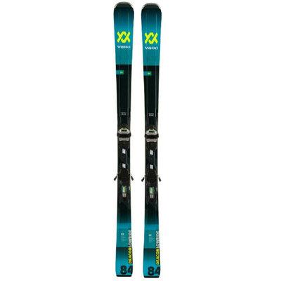 Volkl Deacon 84 Skis w/LowRide XL 13 FR GW  Blk/Teal Bindings 2020