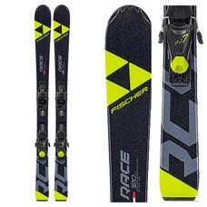 Fischer Jr RC4 Race Skis w/FJ7 GW AC SLR Bindings 2020