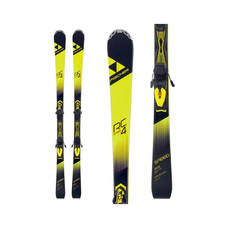 Fischer RC4 Speed Allride Skis w/Z11 GW Powerrail Bindings 2020