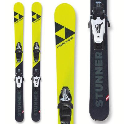 Fischer Jr Stunner Skis w/FJ7 GW AC SLRBindings 2020