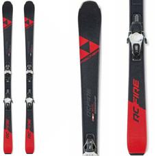 Fischer RC Fire Skis w/RS9 GW SLR Bindings 2020