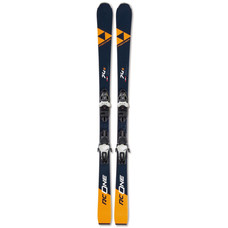 Fischer RC One 74 S Skis w/RS 10 GW Powerrail Bindings 2020