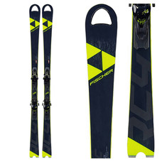 Fischer RC4 World Cup SC Skis w/Z12 Powerrail Bindings 2020