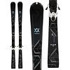 Volkl Women's Flair 72 Skis w/VMotion 10 GW Lady Black/White Bindings 2020