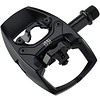 "iSSi Flip I Pedals - Single Side Clipless with Platform, Aluminum, 9/16"", Intense Black"