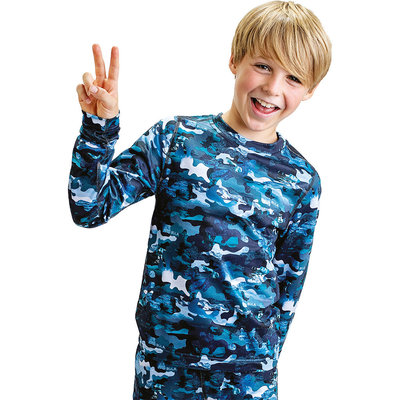 Bula Kids' Rainbow Base Layer Set