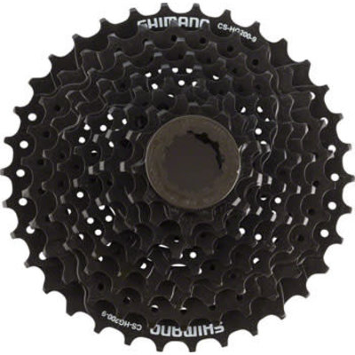 Shimano Tourney CS-HG200 Cassette - 9 Speed, 11-34t, Black