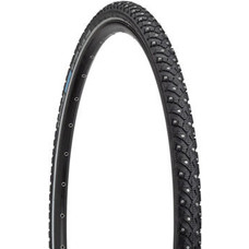 Schwalbe Marathon Winter Plus Tire - 700 x 35, Clincher, Wire, Black/Reflective, Performance Line, 240 Steel Studs