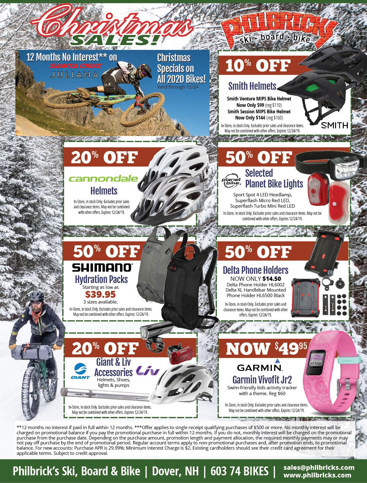 Christmas Bike Specials