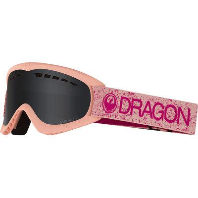 Dragon DXS Snow Goggles 2019 Pink Dark Smoke (No Box)