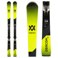 Volkl Deacon 75 Skis w/VMotion 10 GW  Blk/Wht Bindings 2020
