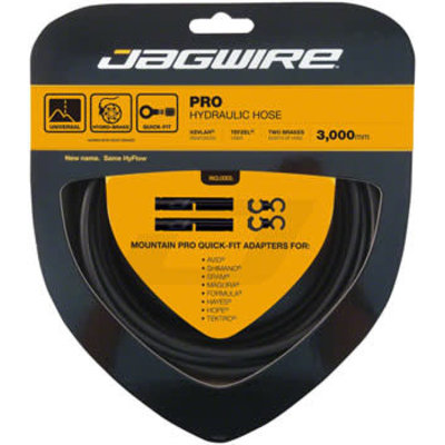 Jagwire Pro Hydraulic Disc Brake Hose Kit 3000mm, Stealth Black