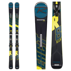 Rossignol React R8 HP Skis w/NX 12 Konect GW B80 Blk/Yel Bindings 2020