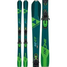 Fischer RC One 82 GT Skis w/RSW 11 GW Blk/Flash Green  Bindings 2020