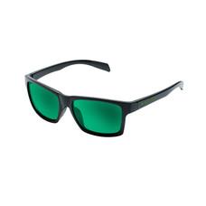Native Flatirons Matte Black Frame Green Reflex Lens