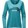 The North Face Women's L/S Half Dome Scoop Neck Tee Shirt 2018