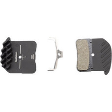 Shimano H03A Resin Disc Brake Pads and Spring with Fins