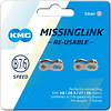 KMC Missing Link I: 7.3mm for 6-,7- and 8-Speed Chains: Card/2