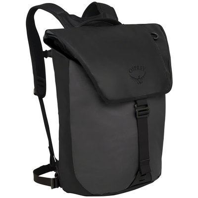 Osprey Transporter Flap Backpack - One Size, Black