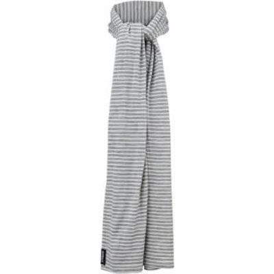 Surly Merino Scarf - Gray/White One Size