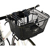 Axiom Pet Basket with Rack and Handlebar Mounts: Black
