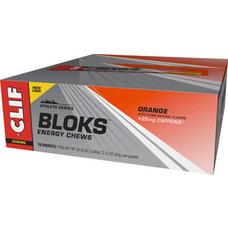 Clif Shot Bloks: Orange with 25mg Caffeine
