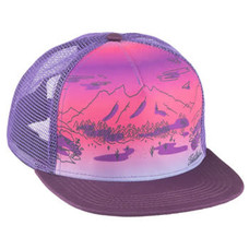 Salsa Purple Daze Trucker Hat - Purple, One Size