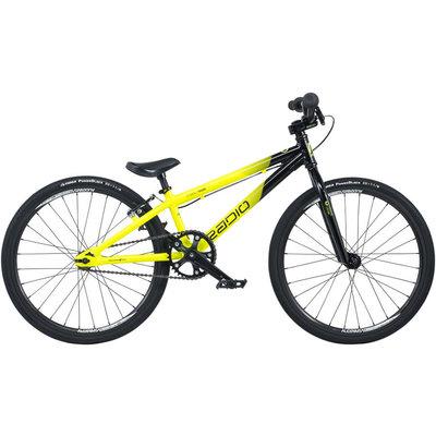 "Radio Raceline Cobalt Mini BMX Race Bike - 17.5"" TT, Black/Yellow"