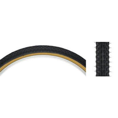 Kenda Street K52 Tire - 24 x 1.75, Clincher, Wire, Black/Tan, 22tpi