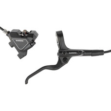 Shimano Altus BL-MT201/BR-UR300 Disc Brake and Lever - Rear, Hydraulic, Flat Mount, Resin Pads, Black