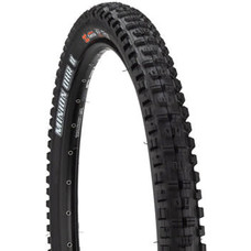 Maxxis Minion DHR II Tire - 27.5 x 2.4, Tubeless, Folding, Black/Tan, Dual, EXO, Wide Trail