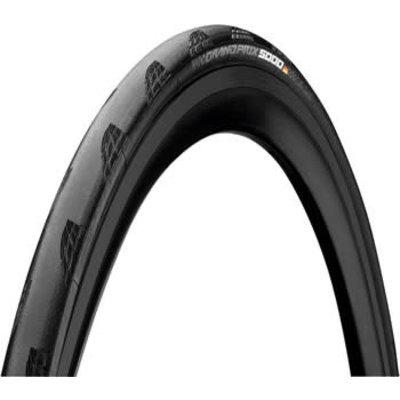 Continental Grand Prix 5000 Tire - 700 x 28, Tubeless, Folding, Black, 180tpi