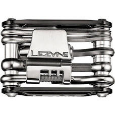 Lezyne RAP 15 Co2 Multi Tool 15 Function, Aluminum Black Sides
