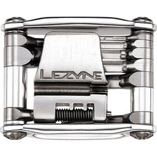 Lezyne Stainless Steel 12 Bit CNC Machined Multi Tool: Silver