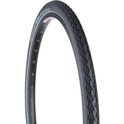 Schwalbe Marathon Tire - 27 x 1 1/4, Clincher, Wire, Black/Reflective ,Performance Line