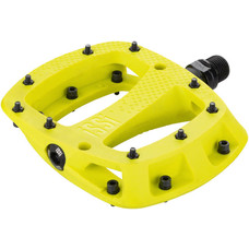 """iSSi Thump Pedals - Platform, Composite, 9/16"""", Yellow, Small, Replaceable Pins"""