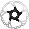Shimano SLX SM-RT76-M Disc Brake Rotor - 180mm, 6-Bolt, Silver/Black