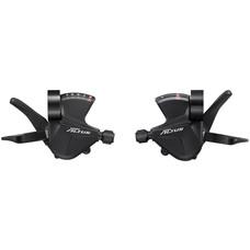 Shimano Altus SL-M2010 2x9-Speed Shift Lever Set, Black