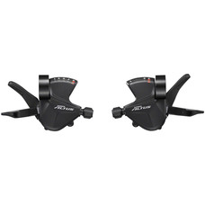 Shimano Altus SL-M2010 3x9-Speed Shift Lever Set, Black