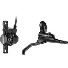 Tektro Auriga HD-M290 Disc Brake and Lever - Front, Hydraulic, Post Mount, Black